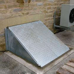 cellar access basement access
