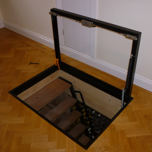 Cellar doors trap doors and cellar hatches for basements for Basement double door
