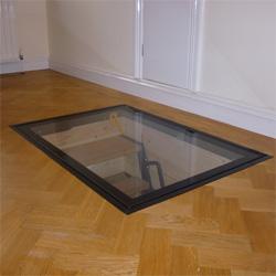 Cellar Access Clear View Door