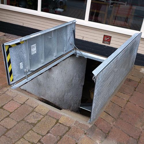 Cellar Access Maintenance Access