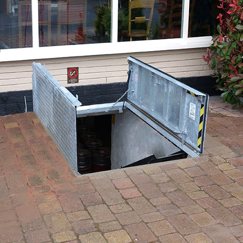 Deck Bilco Door Access Floor Foundation Washer